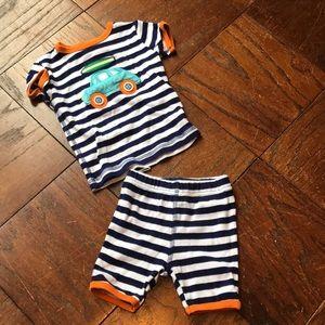 Mud pie pajamas 9-12 months
